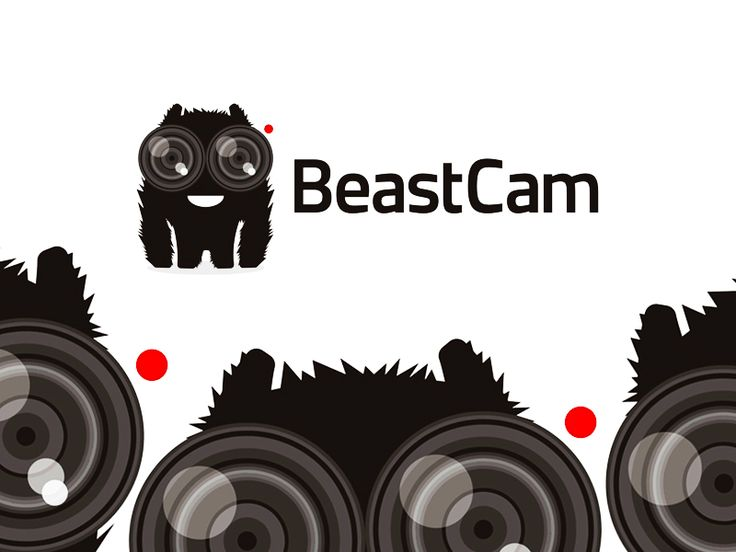 BeastCam live streaming app logo design