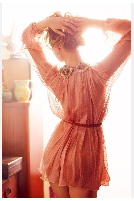 polka polka dots: Summer Dresses, Chiffon Blouses, Pink Polka Dots, Pink Dresses, Trav'Lin Lights, Color, The Dresses, Dresses Girls, Chiffon Dresses