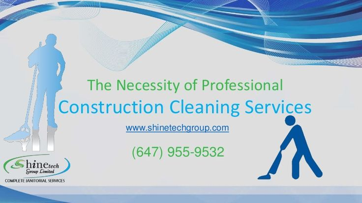 The Necessity of #Professional #Construction_Cleaning_Services