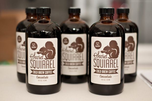 Secret Squirrel Cold Brew Creating the ultimate all-American cold brew coffee with Hawaiian beans and LA illustrators