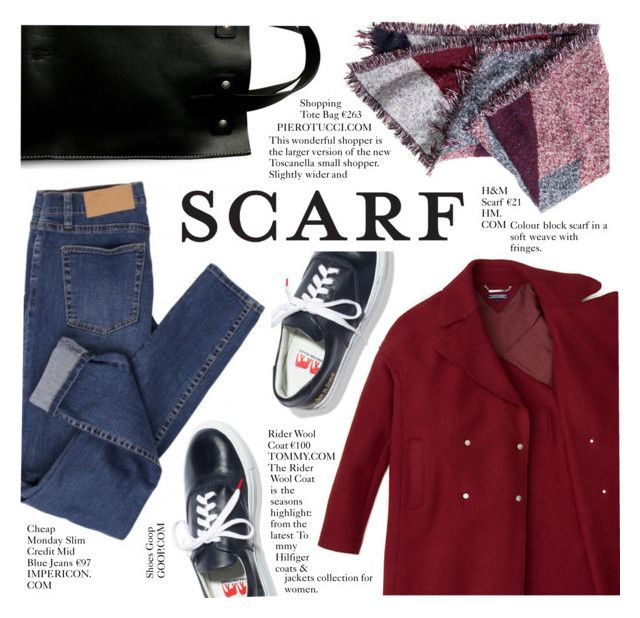 """""""It's a Wrap! Fun Fall Scarves"""" by alessandra-mv ❤ liked on Polyvore featuring H&M, Cheap Monday and scarf"""