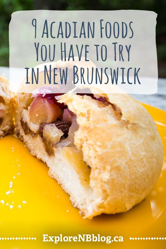 Homey, hearty, and delicious: Here's how to get a taste of Acadie. #ExploreNB #NewBrunswick #Canada