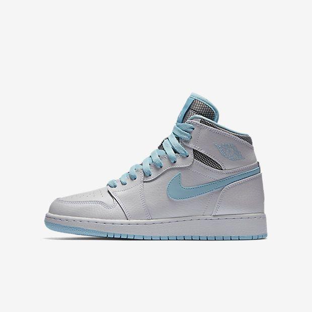 Jordan Retro 1 High Big Kids' Shoe, by Nike Size