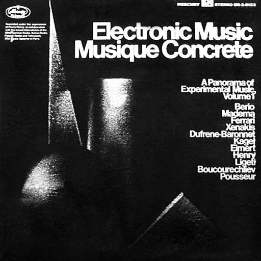Various - Panorama Of Experimental Music: Electronic Music And Musique Concrete (Vinyl, LP) at Discogs
