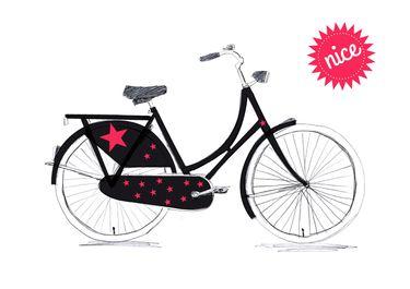 Fahrrad-Aufkleber Sterne ♥