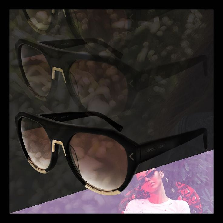 Happy National  Day! Mercy Flattop Aviator Black/Gold @bloomingdales