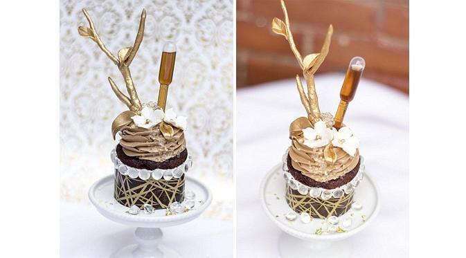 Bertabur Emas Permata, Cupcake Ini Dibanderol Rp 10 Juta - Liputan6.com