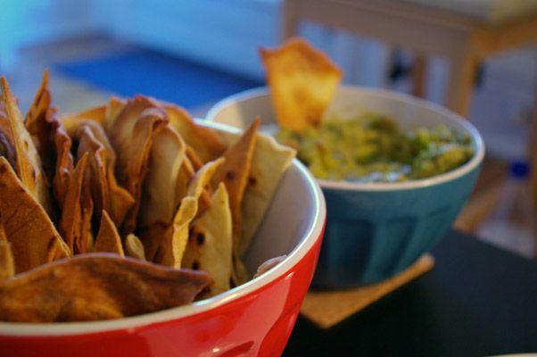 Guacamole and Homemade Flour Chips: Flour Tortilla Chips, Homemade Flour Tortillas, Flour Chips, Amazing Homemade, Homemade Tortilla Chips, Homemade Guacamole, Flour Tortillas Chips, Chips Recipes, Homemade Tortillas Chips