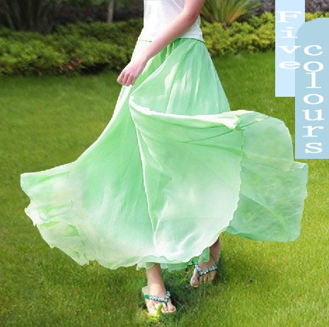 Aliexpress.com : Buy Free Shipping!!!2013 New Collection 5 colors Bohemia ankle length chiffon skirt!!! on Mom! Please, say yes!!!. $26.99