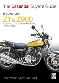 Kawasaki Z1 & Z900 (1972 to 1976) - Essential Buyer's Guide by Dave Orritt