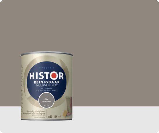 Histor Klei - erg mooi in combinatie met witte plinten / kozijnen / deuren