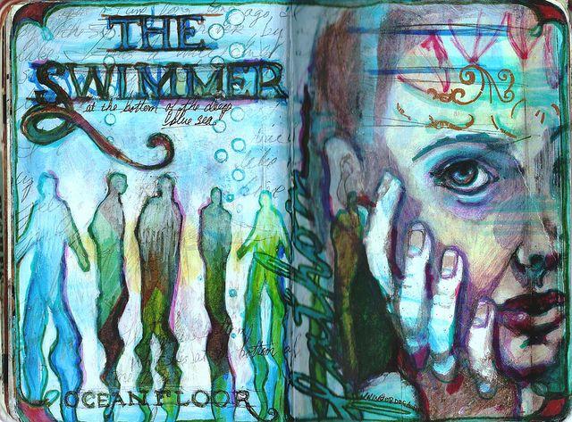 The Swimmer by little jule, via Flickr juliana coles