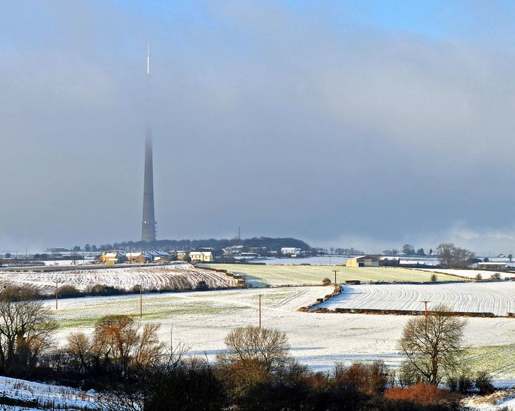 Emley Moor Mast, December 2011 The analogue signal has recently been turn off…