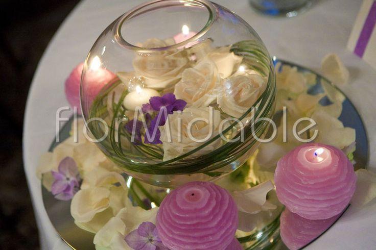 Ortensia centrotavola matrimonio cerca con google idee - Candele decorative ikea ...