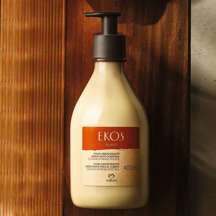 Polpa Desodorante Hidratante Corporal Buriti Ekos - 400ml | Rede Natura