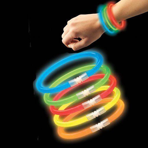 300 8 Blinkee Brand Glow Light Stick Bracelets WHOLESALE PACK @ niftywarehouse.com #NiftyWarehouse #Halloween #Scary #Fun #Ideas