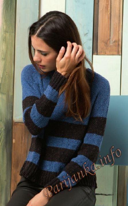 Пуловер c регланом (ж) 39*218 FAM №4814