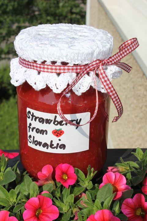 Strawberry jam in Norway