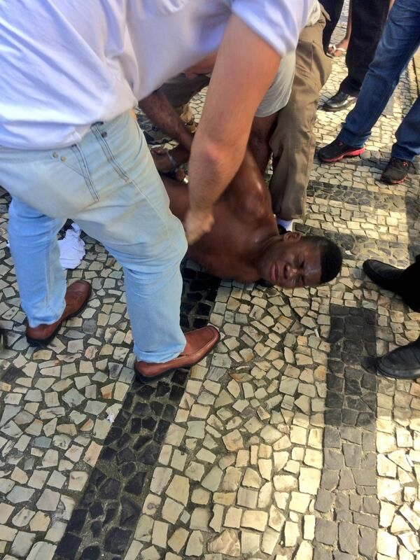 Sky Sports pundit Chris Kamara hunts down thief in Brazil