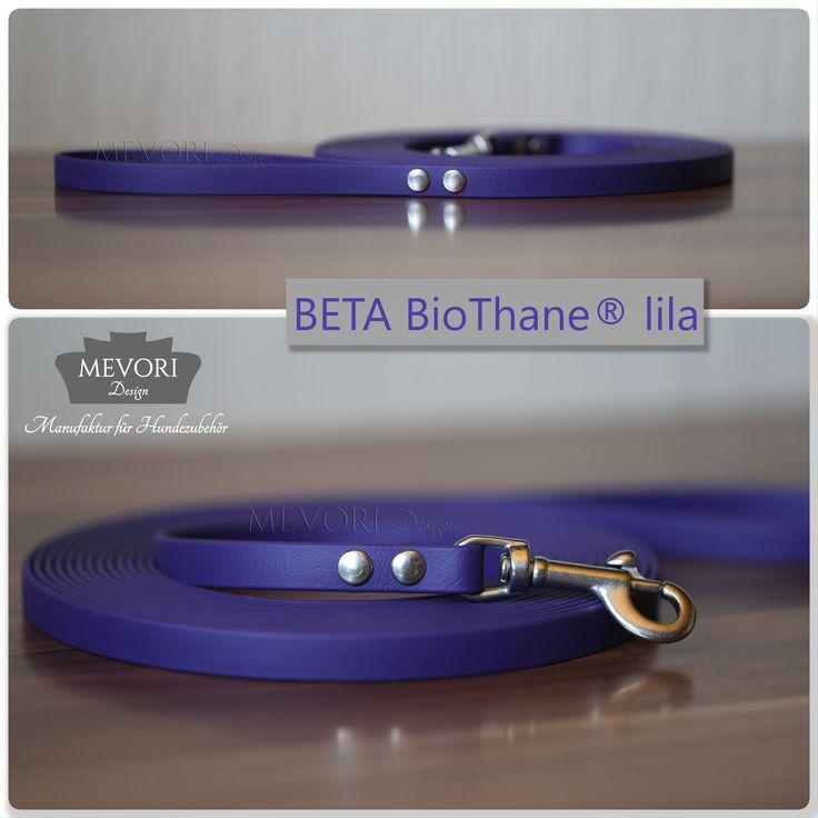 Du hast keine Leine in lila? Du brauchst eine Leine in lila! BioThane® Führ- und Schleppleinen in 12mm/13mm Breite. Sofort kaufen im SHOP! www.mevoridesign.de Alle unsere Leinen haben einen rostfreien Edelstahlkarabiner im Preis inbegriffen!  #MevoriDesign #BioThane® #Schleppleine #Führleine #lila #BETA #Edelstahl #rostfrei #dog #leash #collar