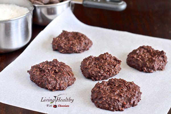 Paleo No Bake Chocolate Cookies