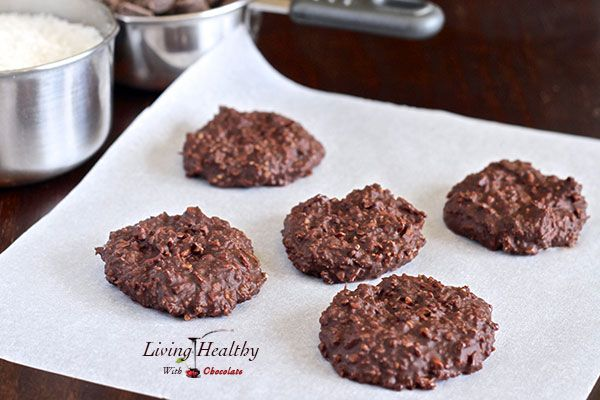 Paleo No-Bake Chocolate Cookies - grain-free, dairy-free, 1 T. honey, cacao butter, cocoa, coconut oil, almond butter, pecans, coconut.  Oooooh, these sound so good!