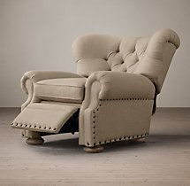 Churchill Upholstered Recliner with Nailheads & Best 25+ Stylish recliners ideas on Pinterest | Recliners Buy ... islam-shia.org