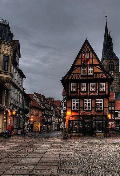 Quedlinburg medieval town, Saxony-Anhalt, Germany