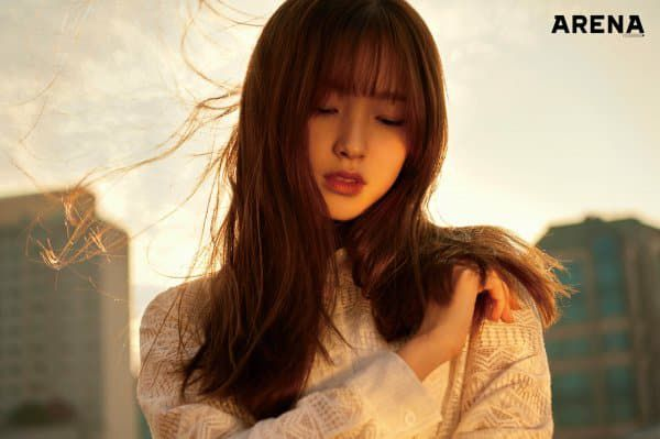 oh my girl, oh my girl profile, oh my girl member, omg, omg member, omg profile, oh my girl arena homme+, oh my girl arena homme+ photoshoot, oh my girl 2017 photoshoot