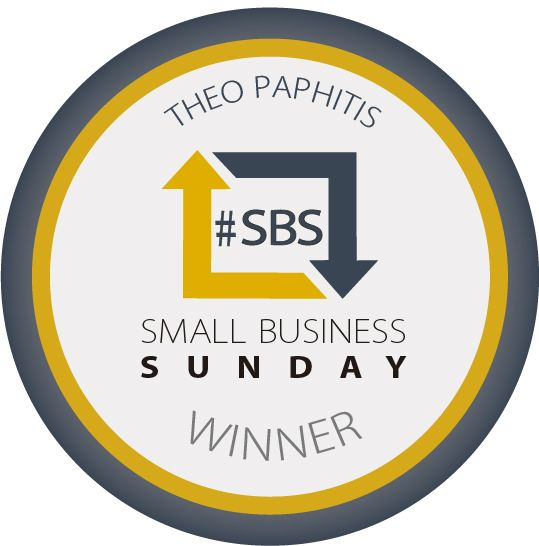 Won Theo Paphitis' SBS Award!