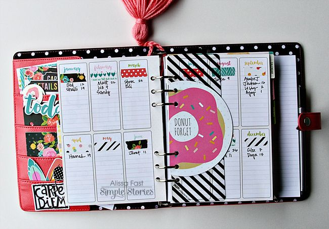 My 2016 SN@P! Planner | Simple Stories Carpe Diem - Scrapbook.com