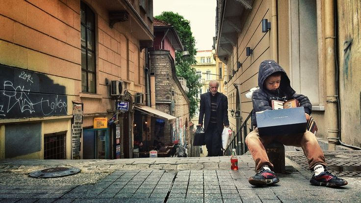 On the Istiklal Ave. Istanbul/Turkey. Photo by Özgür Çankaya