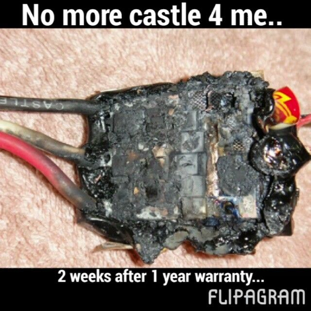 This is complete bull shit... Turn the volume up... They won't replace the ESC when this was clearly a manufacture error!! They want me to pay 65$!!!! That's crazy!!! A new combo with motor is 98$!!! ITS ONLY BEEN 2 WEEKS.... worst service ever... I am making a comeback call tomorrow... Stay tuned for a castle roast... #ripstickers #rustler #slash #traxxas #brushless #slash2wd #shortcourse #trophytruck #axial #gopro #cvd #lipo #bashing #bash #brushless #hpi #ecx #rustler #losi…