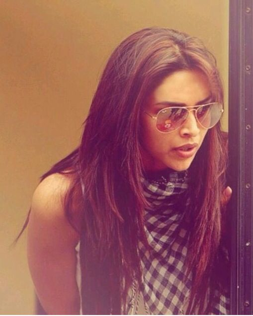 Deepika Padukone layered hair