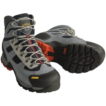 Asolo Echo Hiking Boots (For Men) in Grey/Black