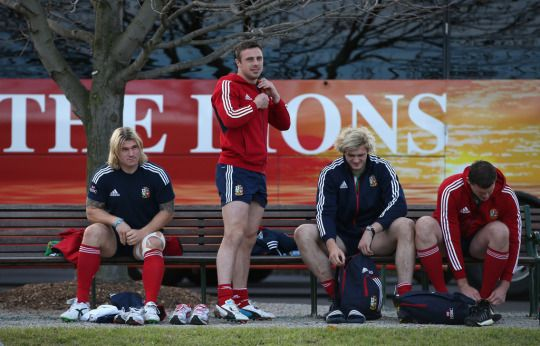 Richard Hibbard, Tommy Bowe; Richie Gray and Ian Evans