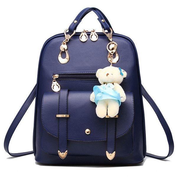 7f44fdc22c2f Vintage Casual Leather Travel Bags Famous Brand School Backpacks Women Bag  Mochila Backpack Lovely Girls School