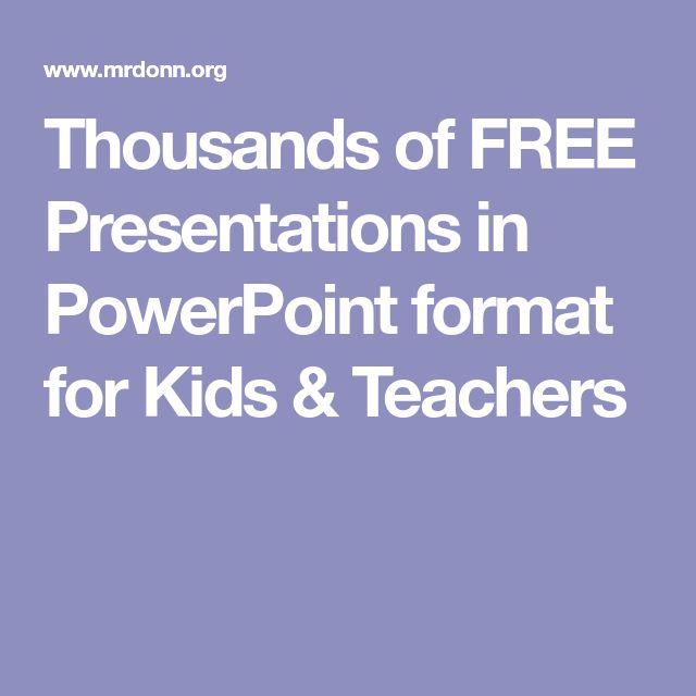 Best 25+ Powerpoint format ideas on Pinterest Presentation - trivia powerpoint template