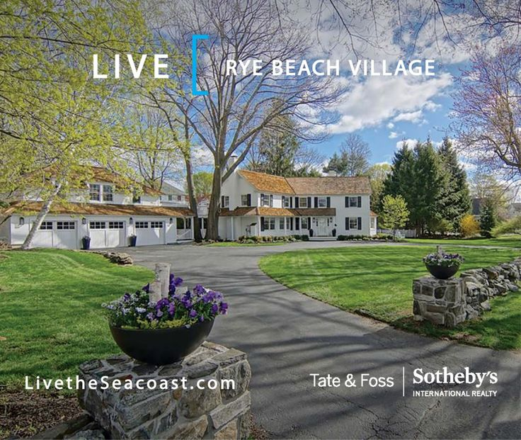 LIVE  |  Rye Beach Village  Known as 'the precinct' to locals, Rye Beach Village is regarded as one of the Seacoast's finest neighborhoods—it's an enclave of pristine homes surrounded by the stunning grounds of Abenaqui Country Club and sandy beaches of the Atlantic Ocean. When visitors drive through the precinct, they immediately sense something special about it...