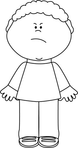 Frustrated Kid Clipart