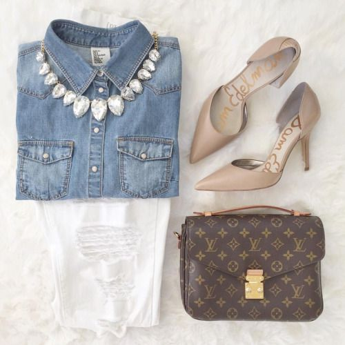 ladies night outfit on point + classics