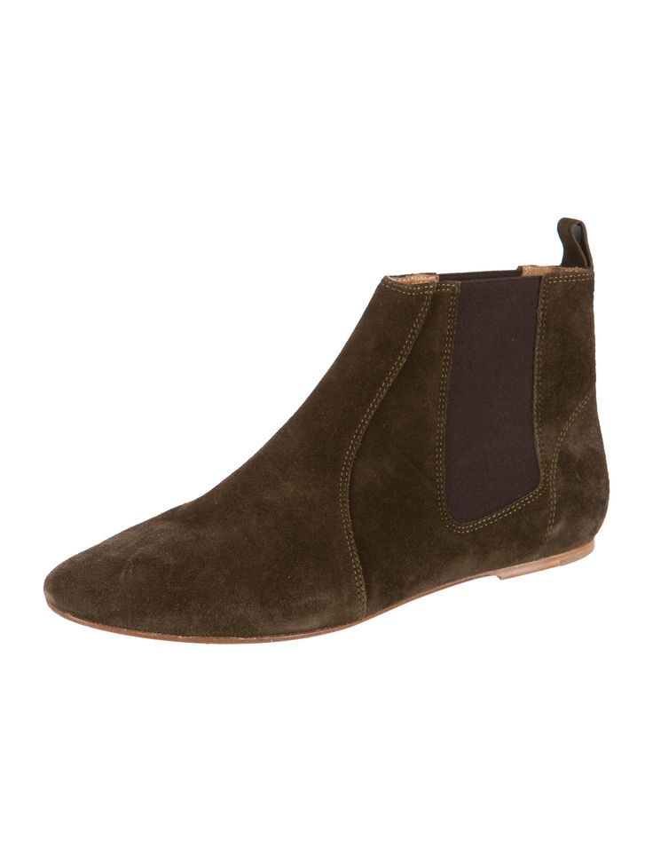 Isabel Marant Suede Round-Toe Ankle Boots fast delivery outlet sale outlet locations limited edition online 5AWwo