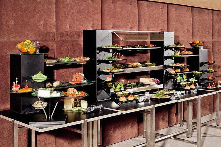 Executive lounge afternoon tea buffet