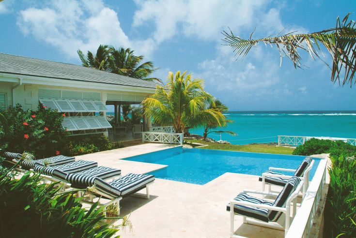 Escape to the warmth of the Caribbean sun with a stay at Beach View tropical villa, overlooking the ocean on the southeastern coast of Barbados.