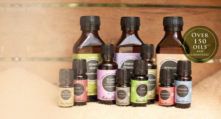 Eden's Garden Oils! Was told better on the pocketbook, but you have to compare prices for yourself.