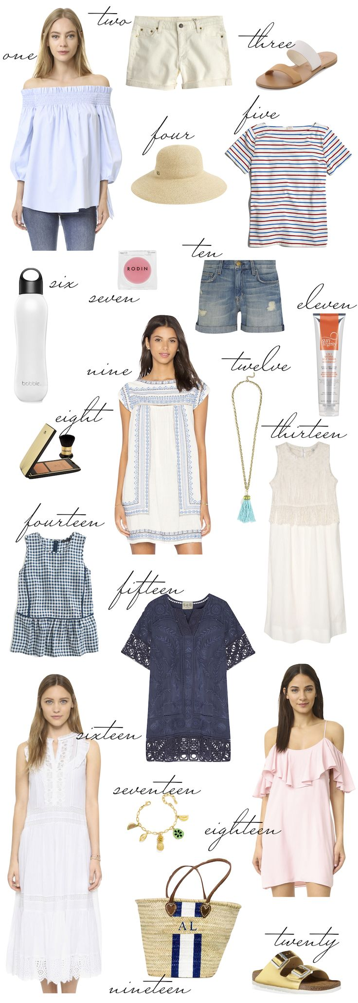 Cape Cod Packing List.                                                                                                                                                     More