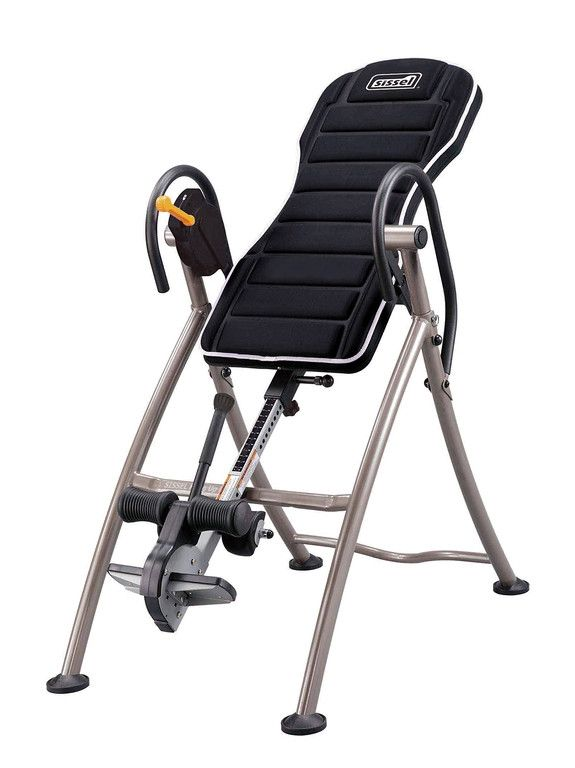 Voici le  SISSEL® HANG-UP Pro -  Table d'inversion améliorée que vous trouverez au meilleur prix sur www.senup.com.     https://www.senup.com/sissel-hang-up-pro-table-d-inversion-amelioree-4453.html     SISSEL® HANG-UP Pro - Table d'inversion améliorée    Soulage les douleurs de la colonne vertébrale.  Inversion jusqu'à 180°.  De haute qualité.