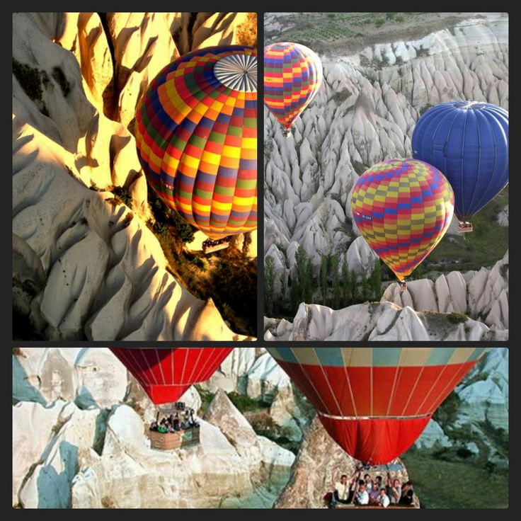 The Cappadocia air balloon flights will allow you to witness this magnificent work of art of nature.   http://www.turkeytour.net/cappadocia-balloon-tour/standart-balloon-flight.html  #TurkeyTour #Kapadokya #Cappadocia #balloontour #balonturu