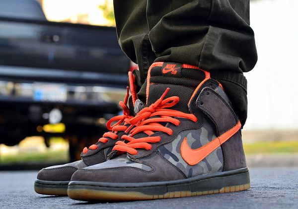 reputable site 07b4e f0ede Nike Dunk High SB Brian Anderson - Chiva1908   shoes   Pinterest   Nike  dunks, Sneakers y Sneakers nike