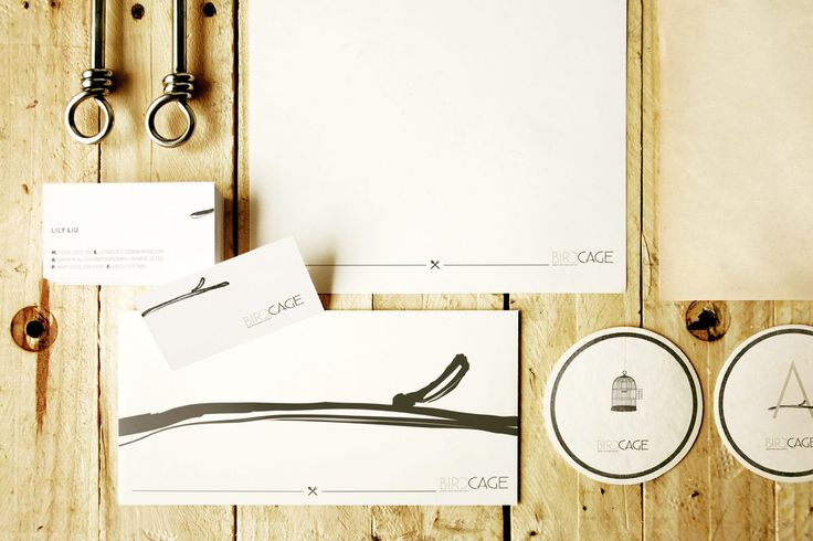 Birdcage's Stationery  #featstudio
